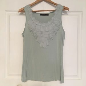 The Limited Ruffle Tank Top
